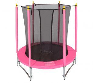 Батут с сеткой Hasttings Classic Pink (1,82 м)